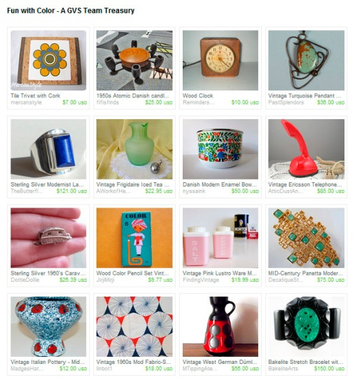 Got Vintage Shops Team Treasury